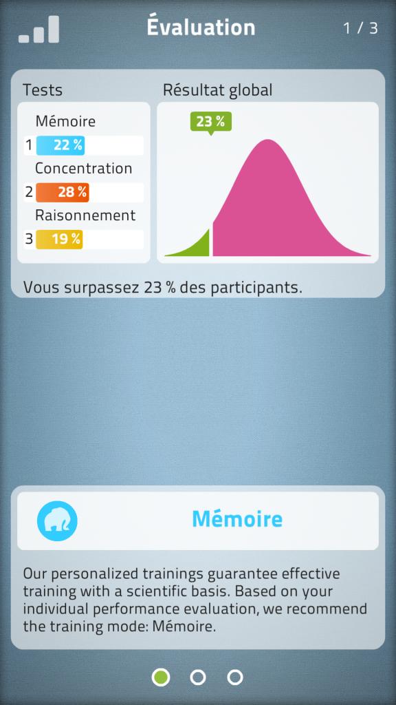 Statistique NeuroNation