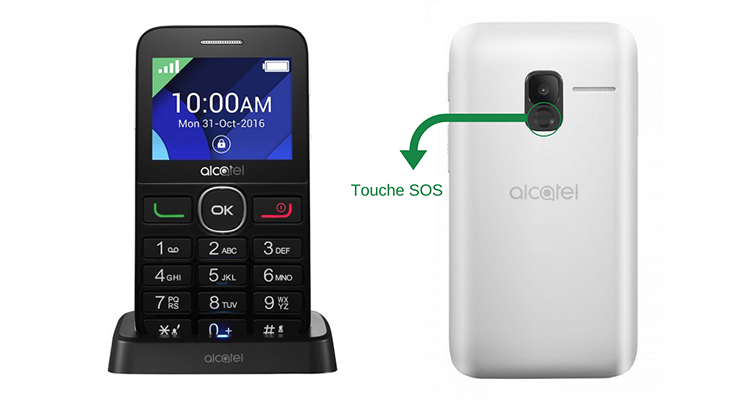 Alcatel 2008G - mobiles grosses touches