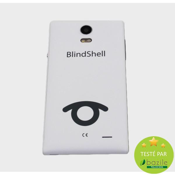 Blindshell - alto 2 - smartphone vocalisé - Bazile