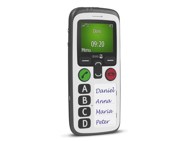 Téléphone senior parfait - Doro 580 - Bazile Telecom
