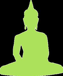 bouddha vert yoga senior