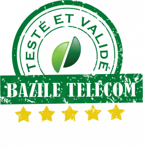 Kapsys Minivision - Téléphone senior malvoyant - bouton SOS - Bazile Telecom