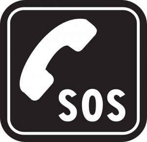 Kapsys minivision - téléphone senior malvoyant - touche SOS - Bazile Telecom