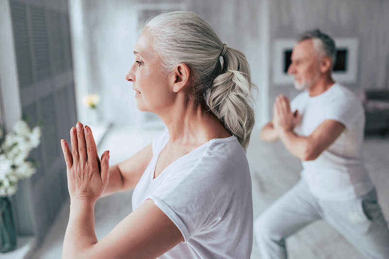 Confinement - Yoga - sport senior - Bazile Telecom