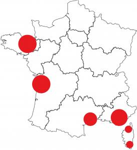 Régions vacances seniors France - Bazile Telecom