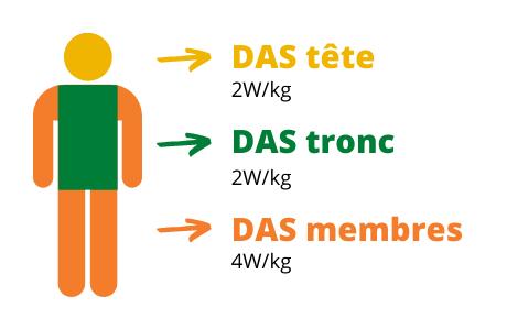 DAS téléphone mobile seniors - Bazile telecom